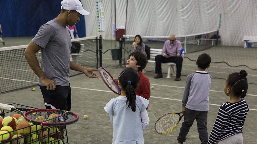 kids tennis classes