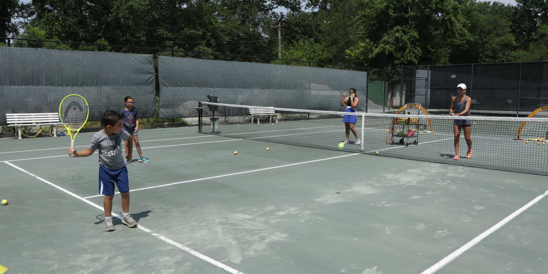 kids private tennis lessons New York