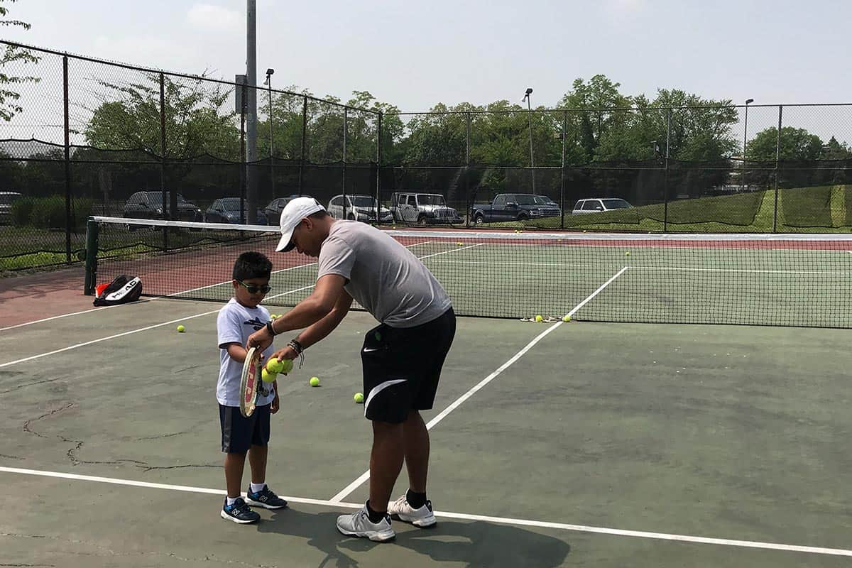 kids tennis classes skill