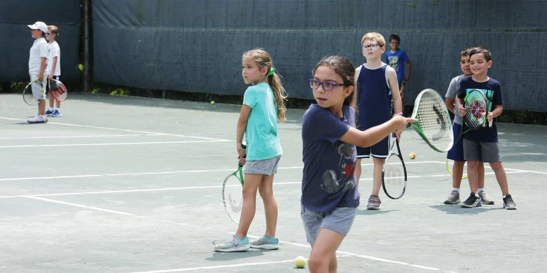 kids play tennis 6 to 9 years old New York tiger tennis academy